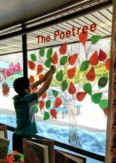 Write or find a poem and share it on a Poetree. Easy!
