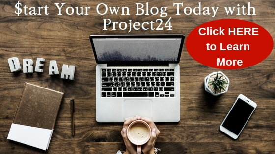 Start Your Blog Today with Project24